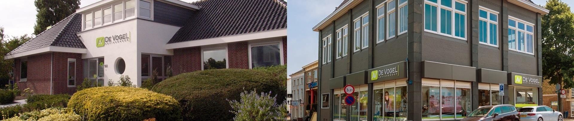 Kantoren Ouddorp en Middelharnis